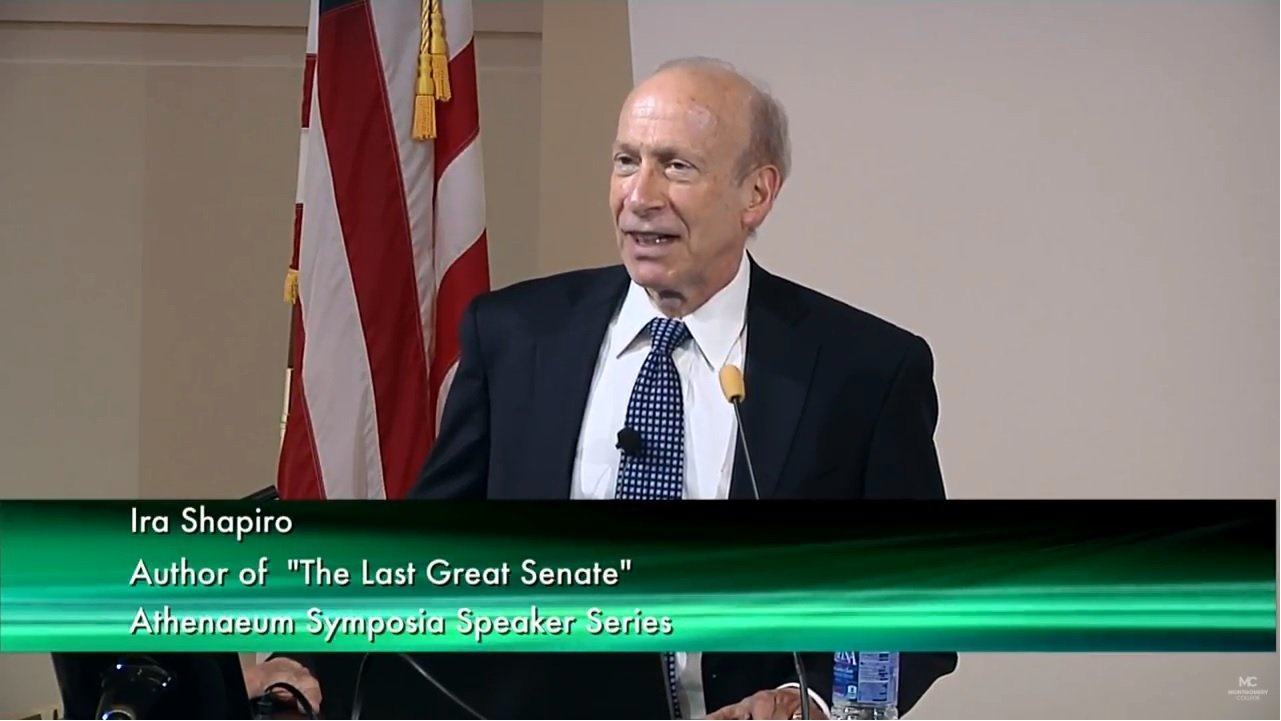 Ambassador Ira  Shapiro Video
