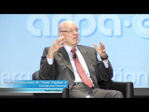 The Honorable Henry M.  Paulson, Jr. Video