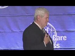 The Honorable Newt  Gingrich Video