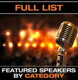 Featured Speakers by Category