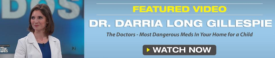 Darria  Long Gillespie, MD, MBA, FACEP Video