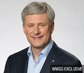 The Right Honourable Stephen  Harper Image