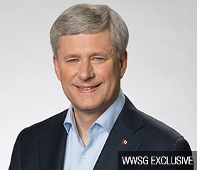 The Right Honourable Stephen Harper