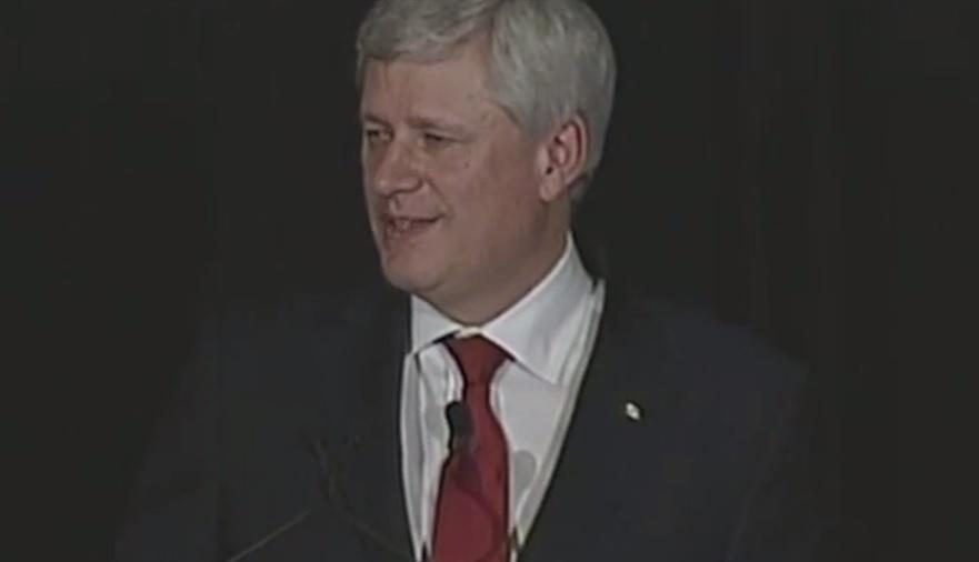 The Right Honourable Stephen  Harper Video