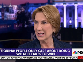 Carly Fiorina On D.C. Culture:
