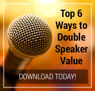 Top Ten Ways to Double Speaker Value