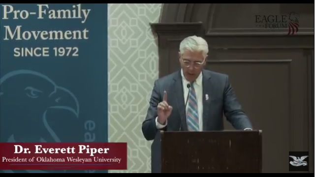 Dr. Everett  Piper Video