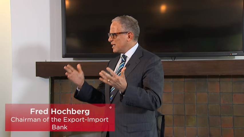 Fred  Hochberg Video