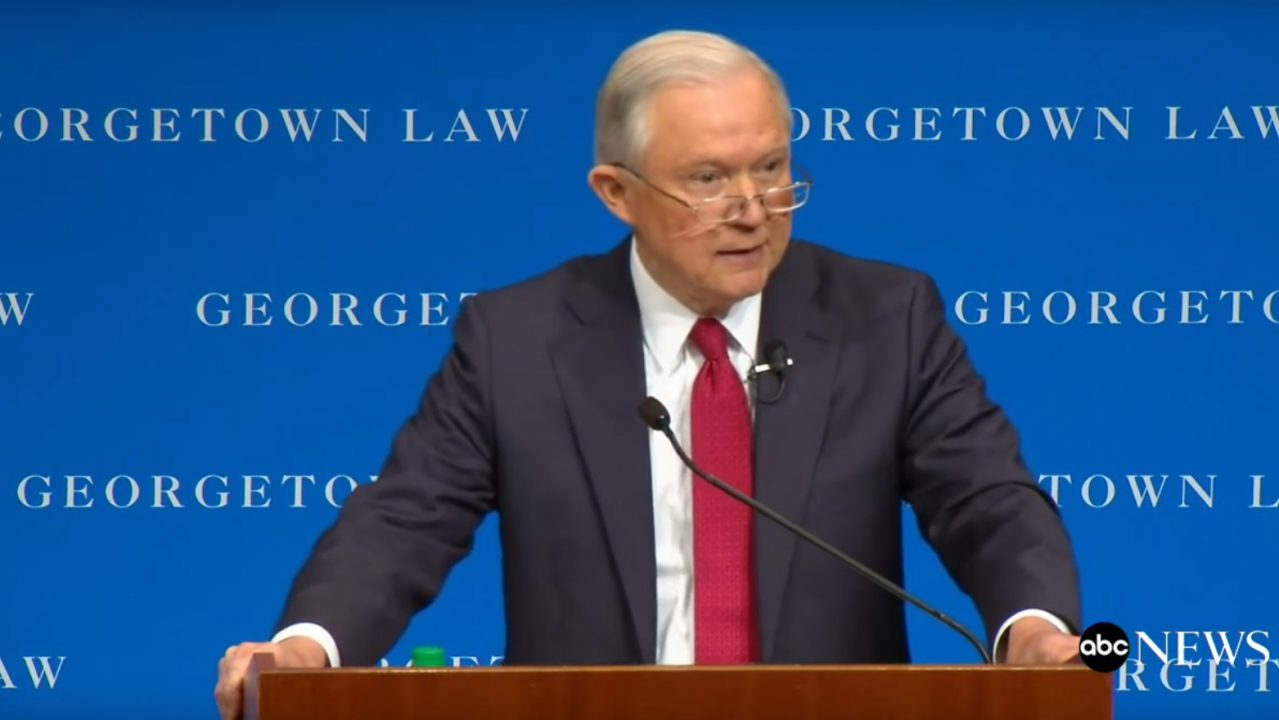 The Honorable Jeff  Sessions Video